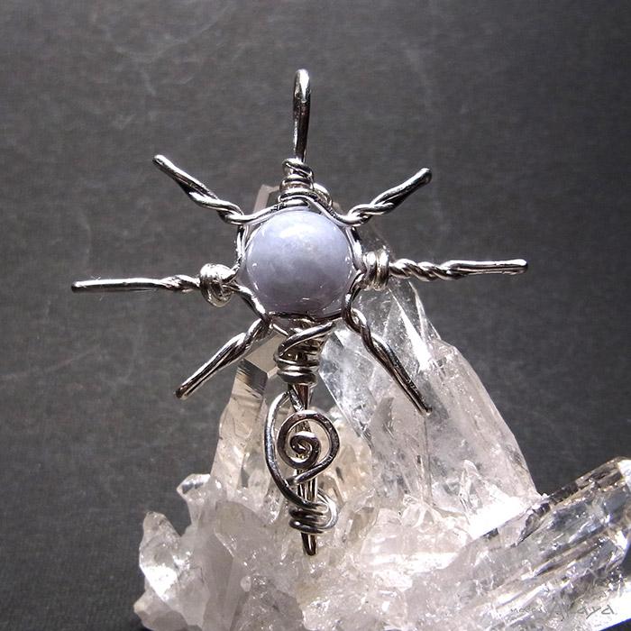 画像1: 光輝の十字架 ラベンダージェダイト