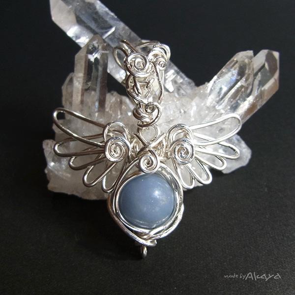 画像1: 天使のシールドペンダント エンジェライト