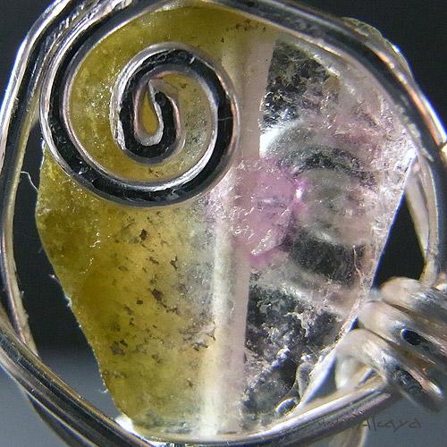 画像2: エルフのペンダント トリプルカラートルマリン